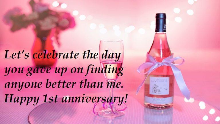 1st Anniversary Messages For Boyfriend