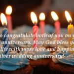 25th Anniversary Wishes For Uncle and Aunts