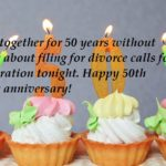 50th Wedding Anniversary Card Messages