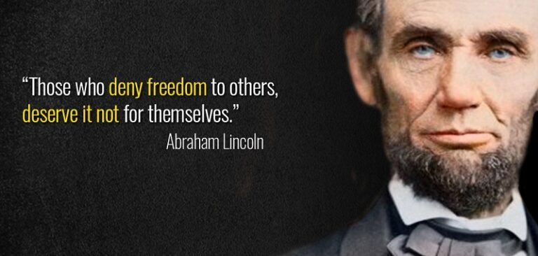 Abraham Lincoln Quotes On Civil War