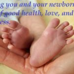 Adorable Message For New Born Baby