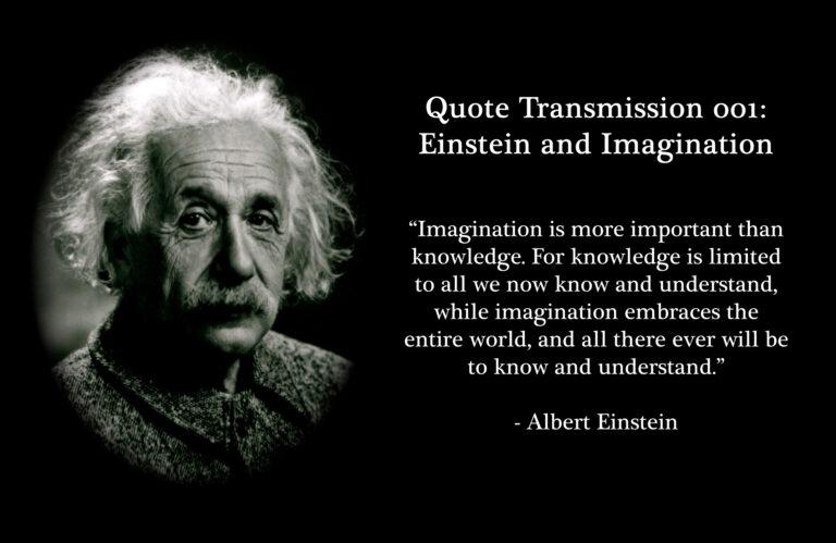 12 Best Albert Einstein Quotes about Imagination
