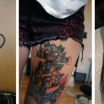 Latest Anchor Tattoo Design