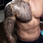 Beautiful African Tribal Tattoo Design