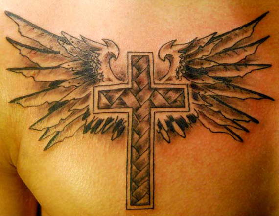 Latest Top 20 Cross Tattoo Design