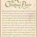 Best Christmas Prayer