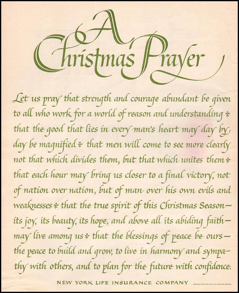 Best Christmas Prayer