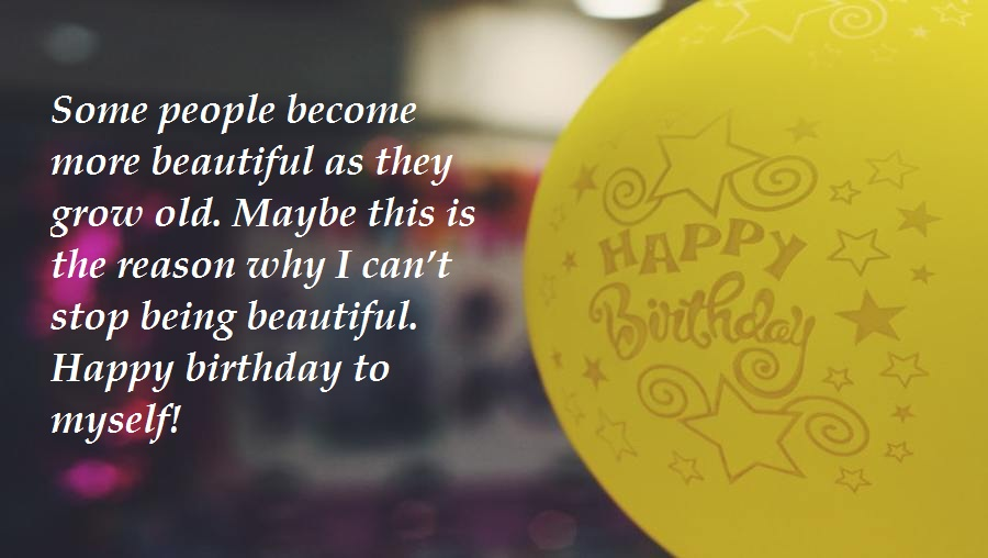 Birthday Messages For Myself