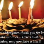 Birthday Wishes Messages For Granddaughter