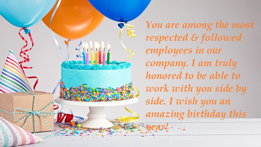 Birthday Wishes for Female Colleagues
