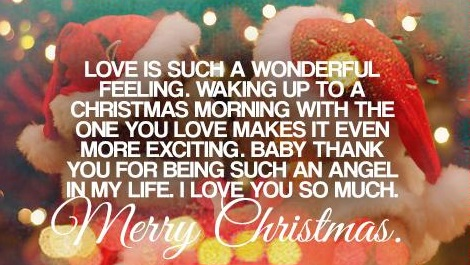 17 Cute Christmas Love Quotes
