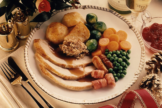 Beautiful Christmas Lunch Dishes