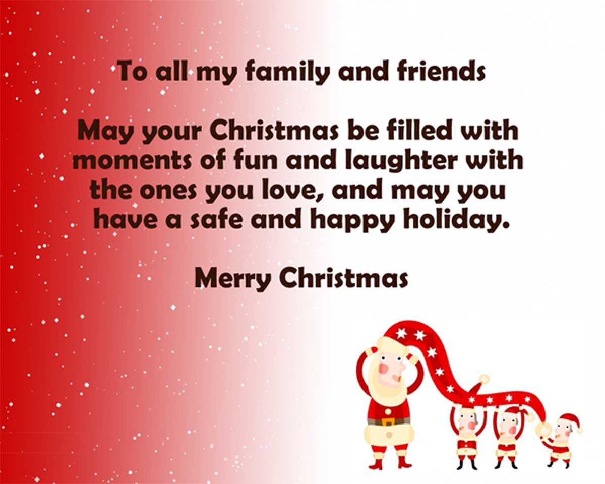 17 Top Christmas Message For Family