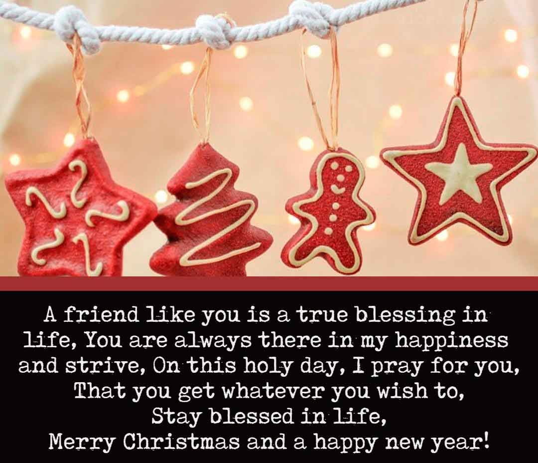 20 Beautiful Christmas Messages For Friend