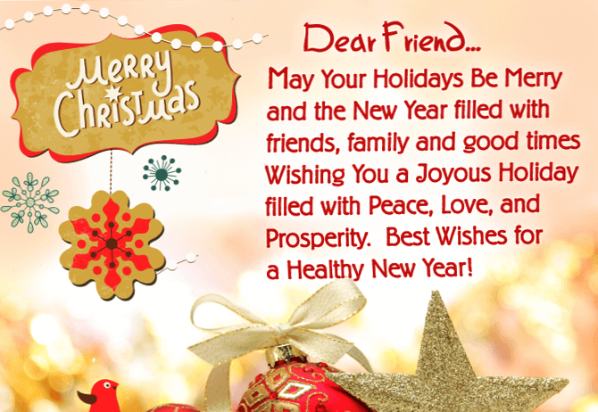 21 Christmas Quotes For Friends