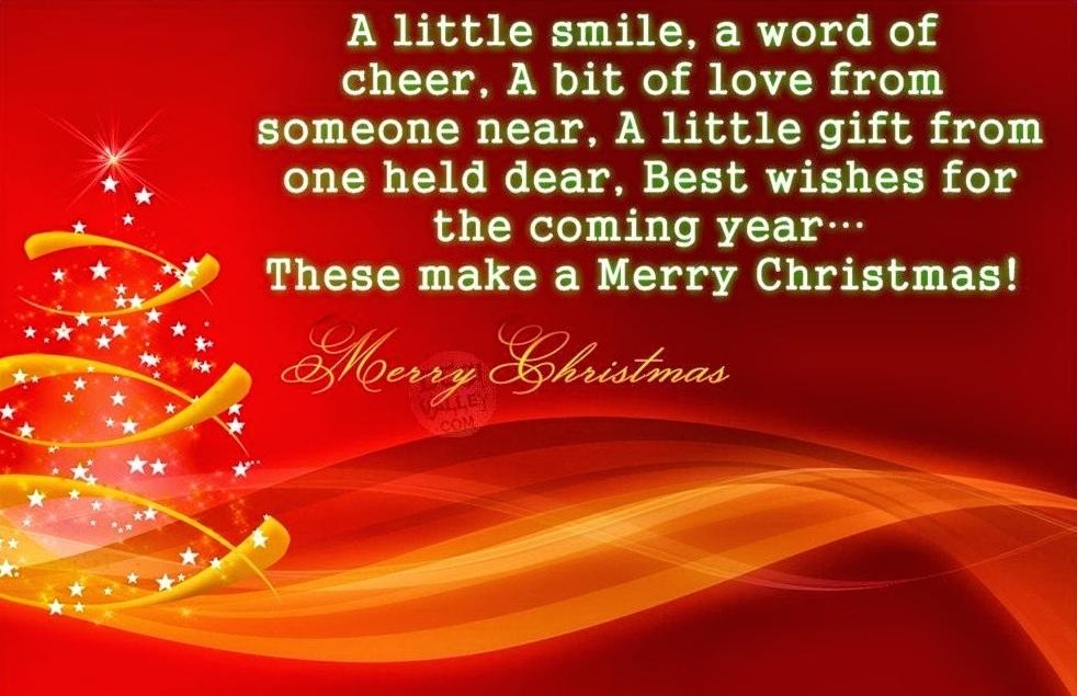 20+ Beautiful Christmas Sayings