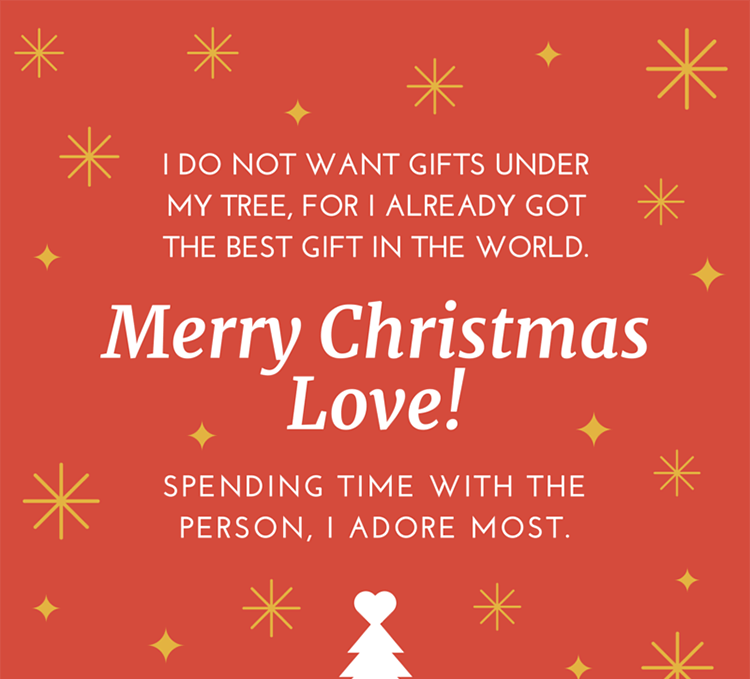 19 Christmas Wishes For Loved Ones