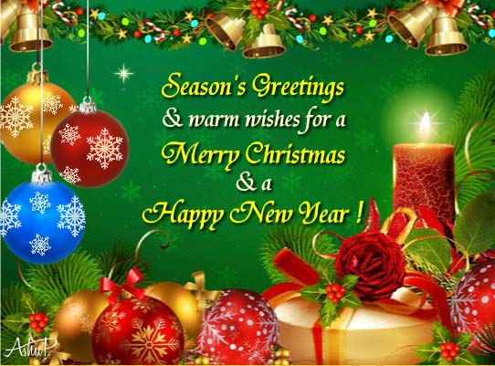 20 Attractive Christmas Wishes Images