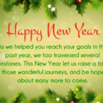 Corporate New Year Greetings