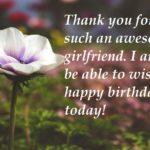 20 Cute Birthday Wishes For Girlfriend