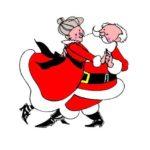 Funny Dancing Santa