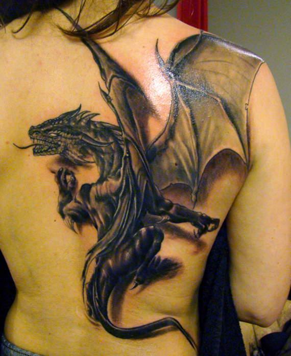 20 Exclusive Dragon Tattoo Design
