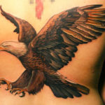 Eagle Tattoo Design For Women