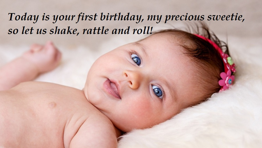 First Birthday Messages and Wishes For Baby Girls and Boys