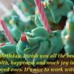 Formal Birthday Wishes for Colleagues