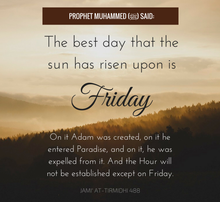 Top 16 Friday Islamic Quotes