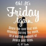 20 Beautiful Friday Quotes