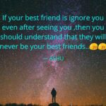 Friends Ignore Quotes