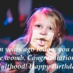 Funny 18th Birthday Messages