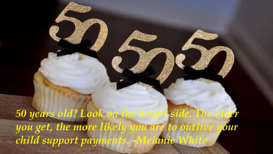 Funny 50th Birthday Sayings