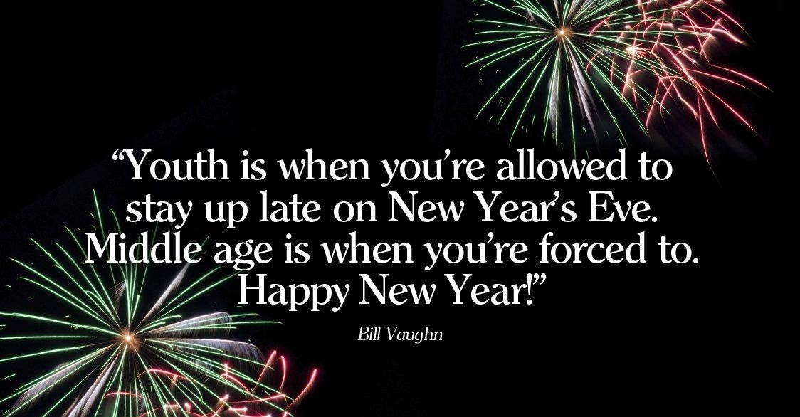 14 Funny New Year Quotes