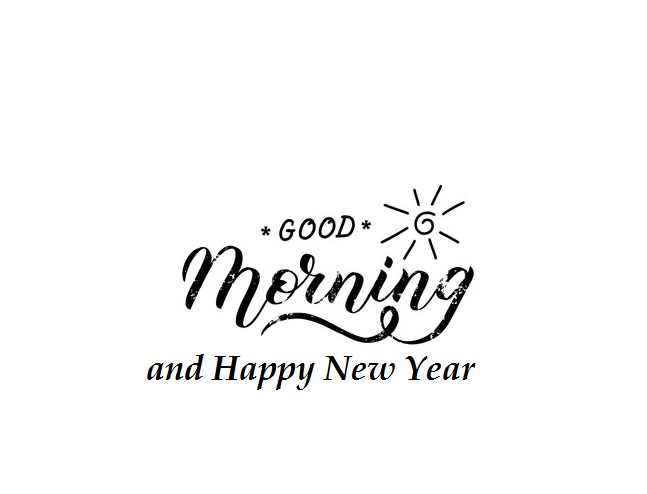 Good Morning Happy New Year 2020