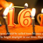 Happy 16th Birthday Wishes For Son