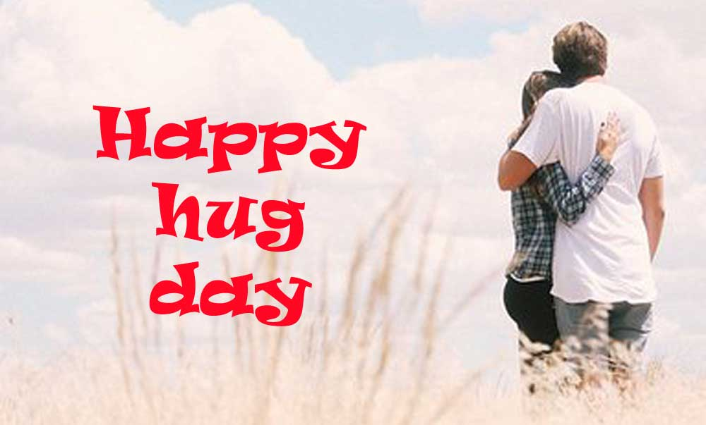 Happy Hug Day Wallpaper