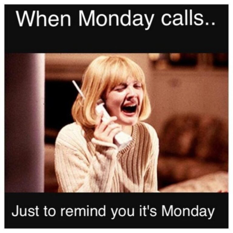 Happy Monday Funny Memes