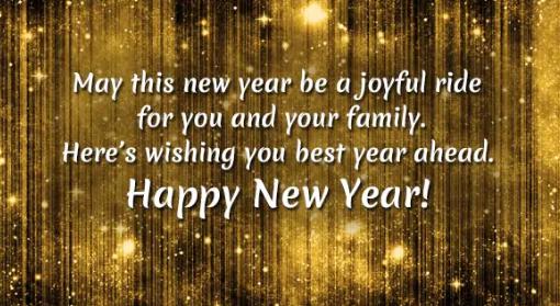 Happy New Year Greetings 2020