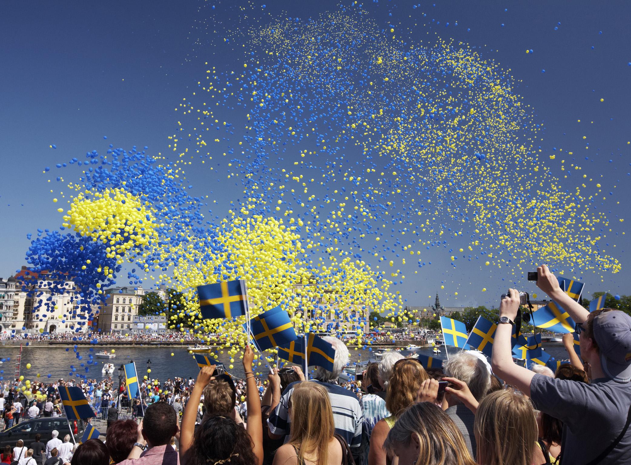 Happy New Year In Swedish