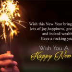 Happy New Year Status In English