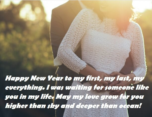 Happy New Year Wishes To My Love
