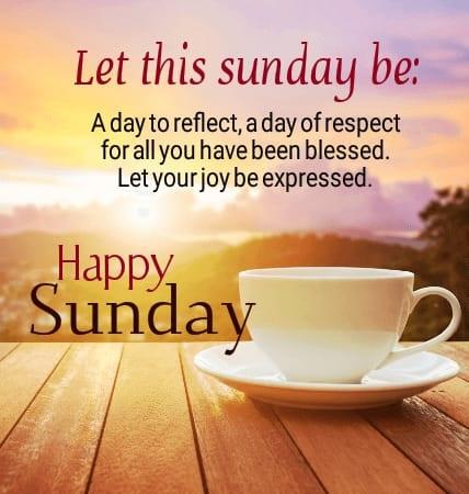 Happy Sunday Coffee Quotes