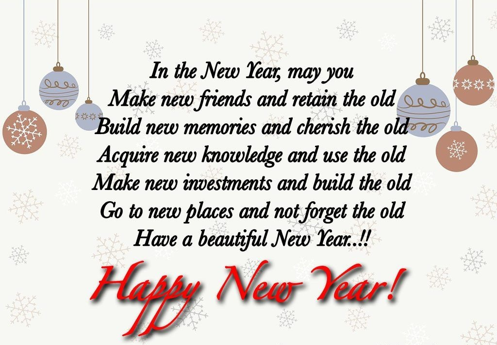Heart Touching New Year Wishes For Friends