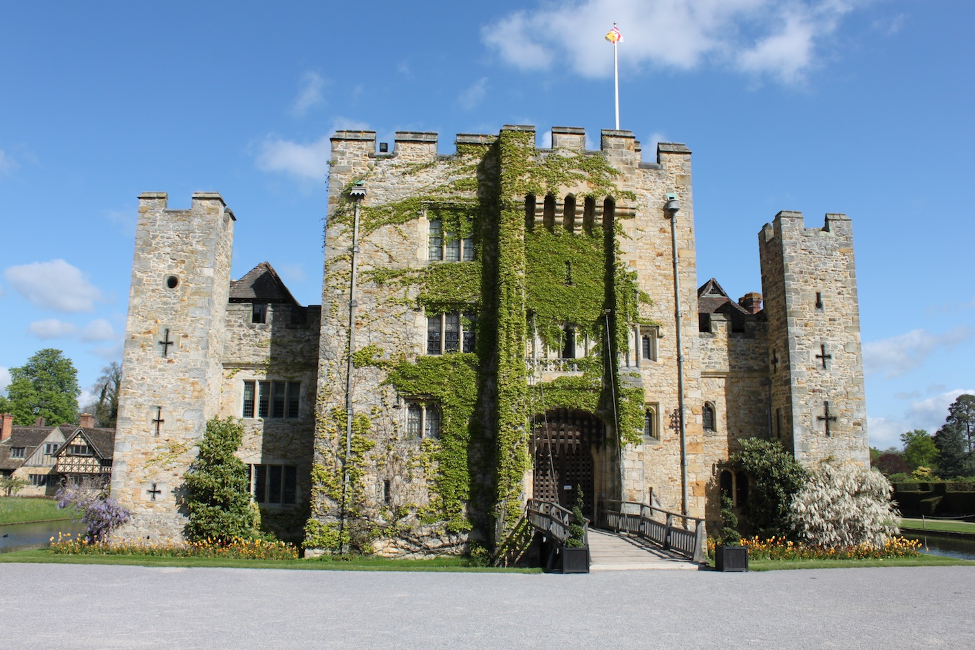 Beautiful Hever Castle,United Kingdom