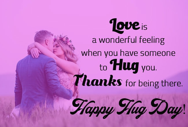 20 Best Hug Day Greetings