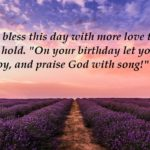20 Inspirational Bible Quotes For Birthday