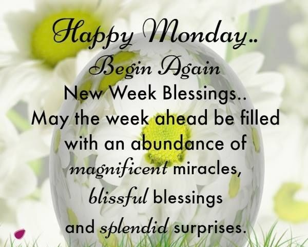 Beautiful Monday Quotes