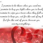 Most Romantic Love Promise Messages